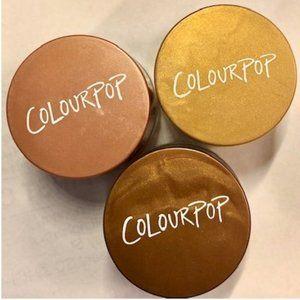 ColourPop Creme Gel Eyeliner TRIO Gold Copper